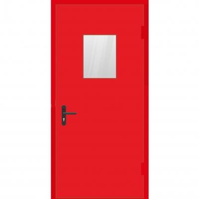 Двери одностворчатые с триплексом (противопожарная)