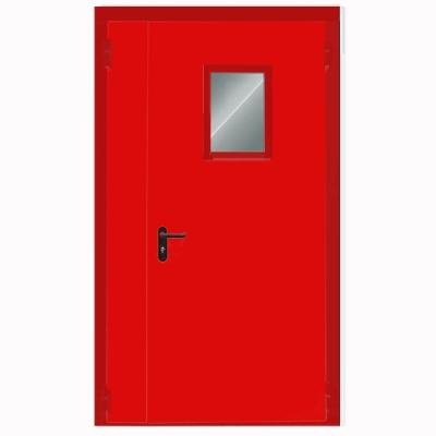 Двери двустворчатые с триплексом (противопожарная)